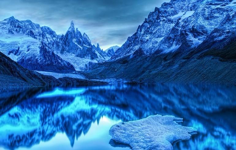 Красивые зимние пейзажи в разных местах мира 1