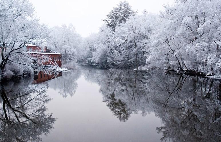 Красивые зимние пейзажи в разных местах мира 7