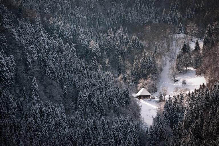 Красивые зимние пейзажи в разных местах мира 9