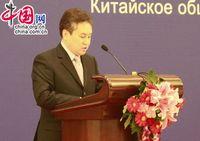 Выступление Посла Кыргызстана в КНР Жээнбека Кулубаева на приеме, посвященном 20-летию установления дипломатических отношений между Китаем и странами Центральной Азии