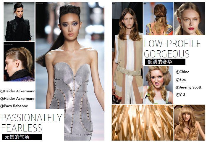 Тенденция модных причесок 2012 года