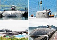 В порту Владивостока стоит атомная подводная лодка «Оскар II»