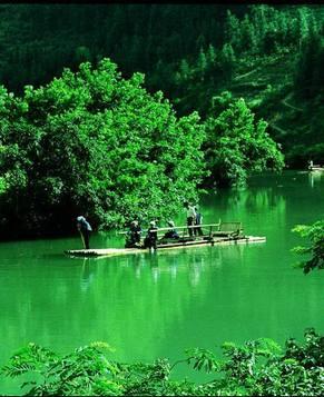 Река Дои в провинции Юньнань