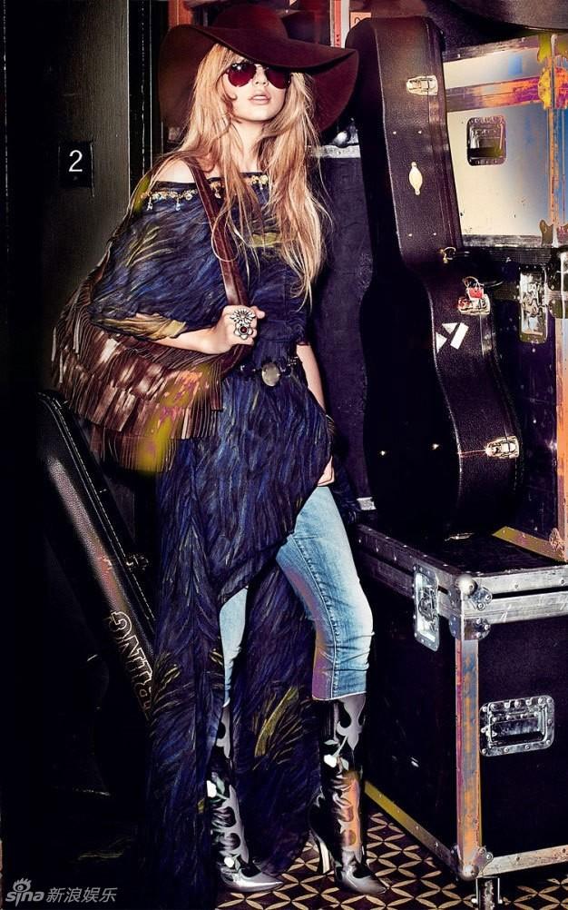 Тейлор Свифт в журнале «Vogue»4