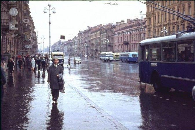 СССР в 60-е годы в объективе иностранного туриста