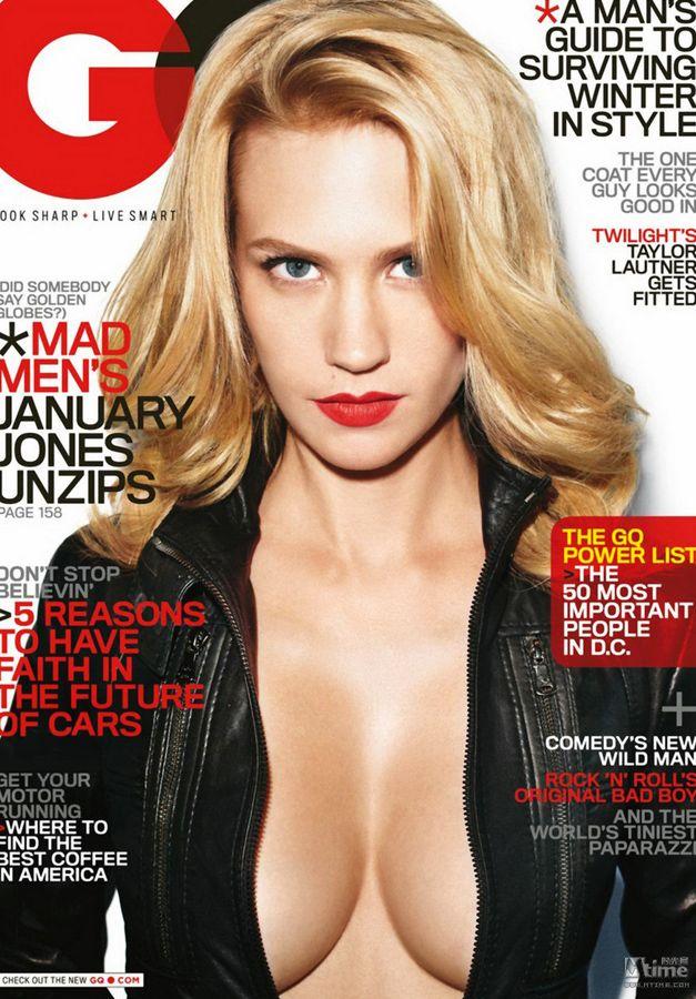 20 самых любимых читателями звезд шоу-бизнеса в 2011 году по версии журнала «GQ»