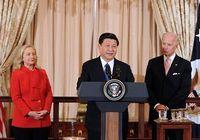 Си Цзиньпин присутствовал на приеме, устроенном вице-президентом и госсекретарем США