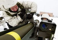 Солдаты Эстонии учатся управлению противотанковыми ракетами «Тоу» США