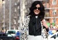 Неделя моды в Милане: модные звезды в черных очках 1