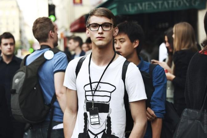 Уличная мода парижских мужчин