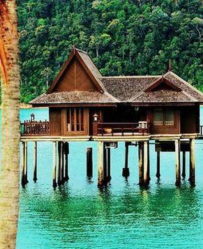 Очаровательный остров Пангкор в Малайзии