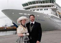 Лайнер Balmoral готовится пройти по пути «Титаника»