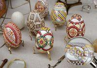 Оригинальные пасхальные яйца от украинского художника