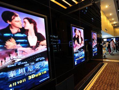 «Титаник» в формате 3D на экранах в Китае пробудил воспоминания