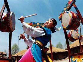 Корейская фольклорная деревня Чанбай