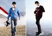 Модные снимки телезвезды У Цилуна для туристического журнала