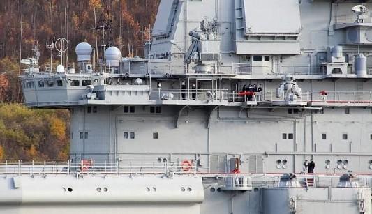 Знаменитый авианосец «Адмирал Кузнецов» после многолетнего ремонта
