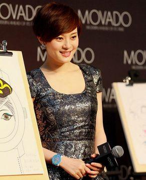 Звезда Сунь Ли после рождения ребенка
