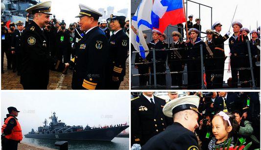Начались совместные военно-морские учения Китая и России «Морское взаимодействие-2012» в Желтом море