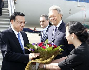 Ли Кэцян прибыл в Россию с официальным визитом