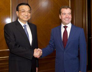Ли Кэцян встретился с президентом РФ