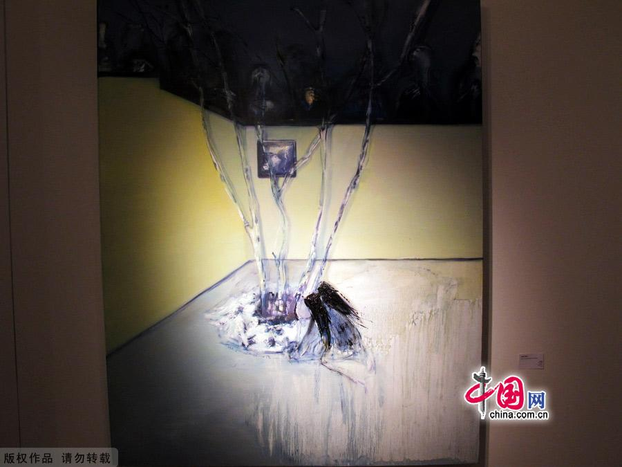 Картины в Пекинском арт-районе 798