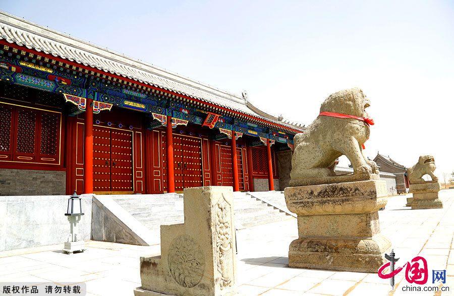 Крупнейший в Китае княжеский дворец