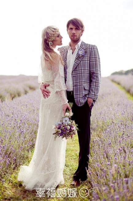 Романтическая свадьба в лавандовом