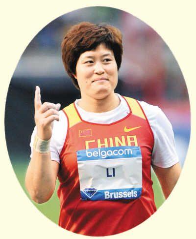 (Олимпиада-2012) Спортсменки, способные завоевать золотые медали - Ли Яньфэн