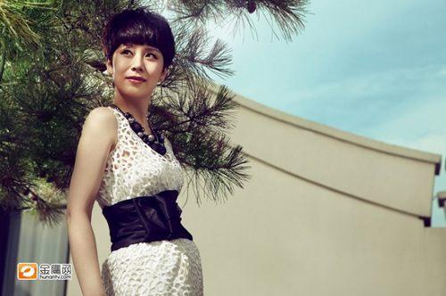Необычная красота актрисы Хай Цин