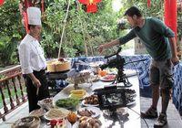 Фото со съемок документального фильма «A bite of China»