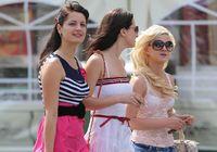 Красавицы на улицах Киева
