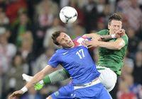Сборная Хорватии обыграла команду Ирландии со счетом 3:1 на Евро- 2012