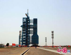 Завершена итоговая комплексная репетиция запуска пилотируемого космического корабля 'Шэньчжоу-9'