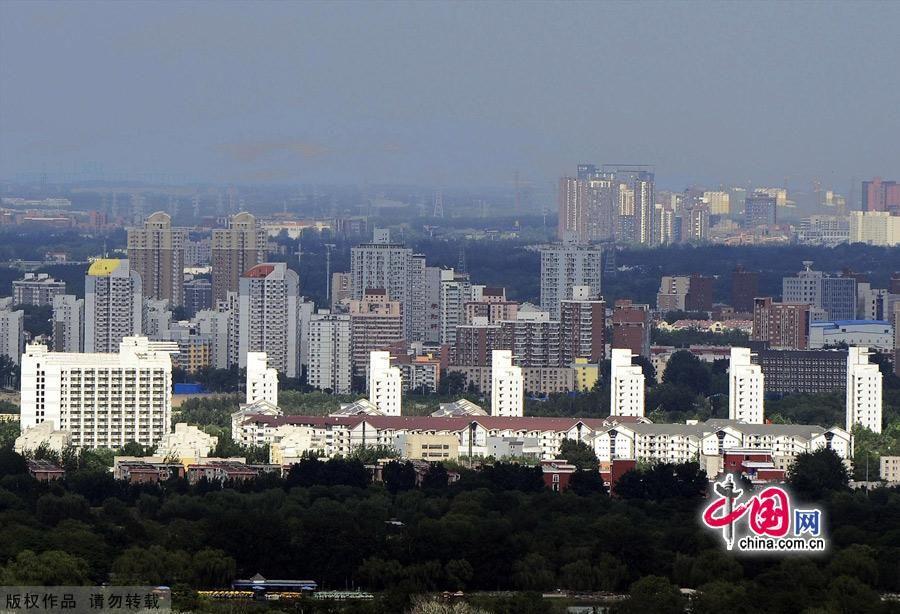 Фото: Пекин с высоты птичьего полета