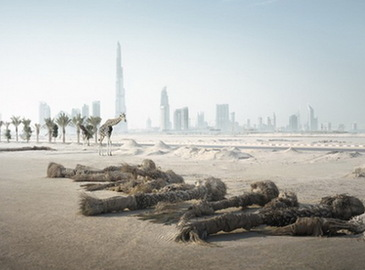 Концептуальные фотографии: «Заброшенный Дубай – 2017» 3
