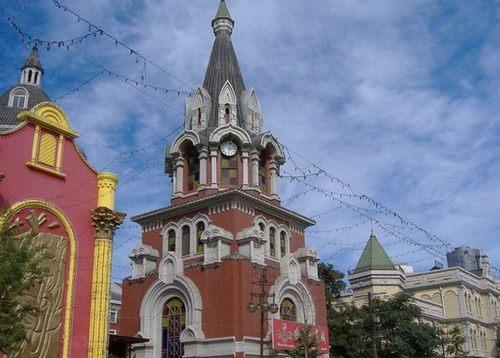 О реконструкции улицы в русском стиле в Даляне