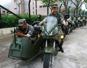 Первая женская команда специального реагирования в Сянгане: кадры с высоким мастерством