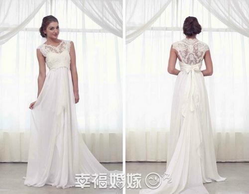 Фото летних свадебных платьев