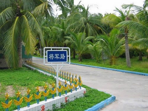 Кокосовый лес «Цзянцзюньлинь» в городе Саньша