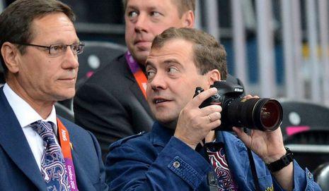(Олимпиада-2012)Почетные зрители на трибунах Лондонской Олимпиады