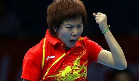 Китаянка Ли Сяося -- олимпийская чемпионка по настольному теннису