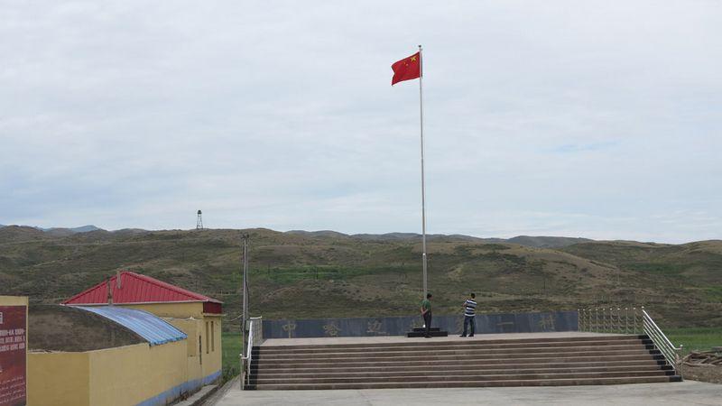 «Первая деревня» на китайско-казахстанской границе – деревня Саэрулэн в Синьцзяне 1