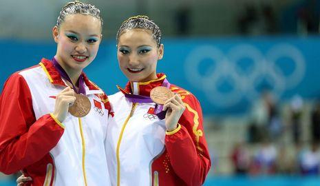 /Олимпиада-2012/ Китаянки завоевали 'бронзу' лондонской Олимпиады в синхронном плавании