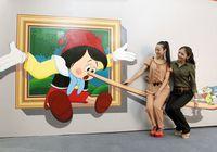Выставка 3D искусства в Пекине