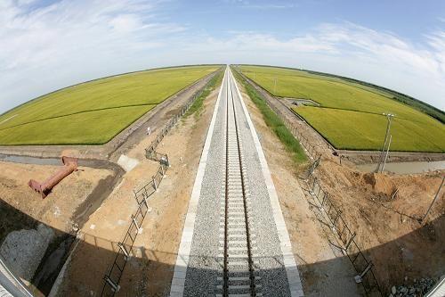 Завершено строительство железной дороги в самой восточной оконечности Китая