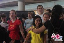 На днях прибыли в Пекин студенты МГУ, совершающие стажерскую поездку в Китай