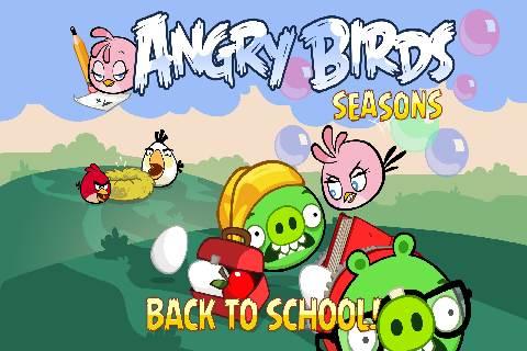 Фото злые птицы сезоны снова в школу