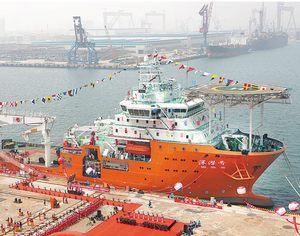 Первая в Китае матка подводной лодки длиной 300 метров «Шэньцяньхао», которая была создана в Циндао, на днях будет запущена в эксплуатацию