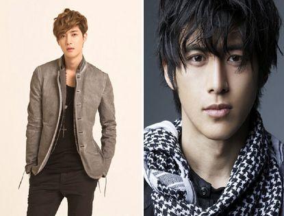 Top10 красавцев-актеров Южной Кореи 2012 года. Ким Хён Чжун занял первое место